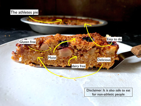 The athletes pie