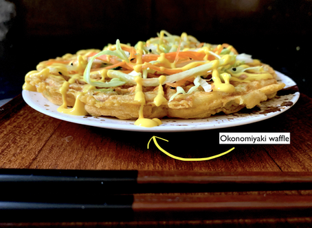 Okonomiyaki waffle