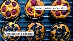 Sweet potato race cakes