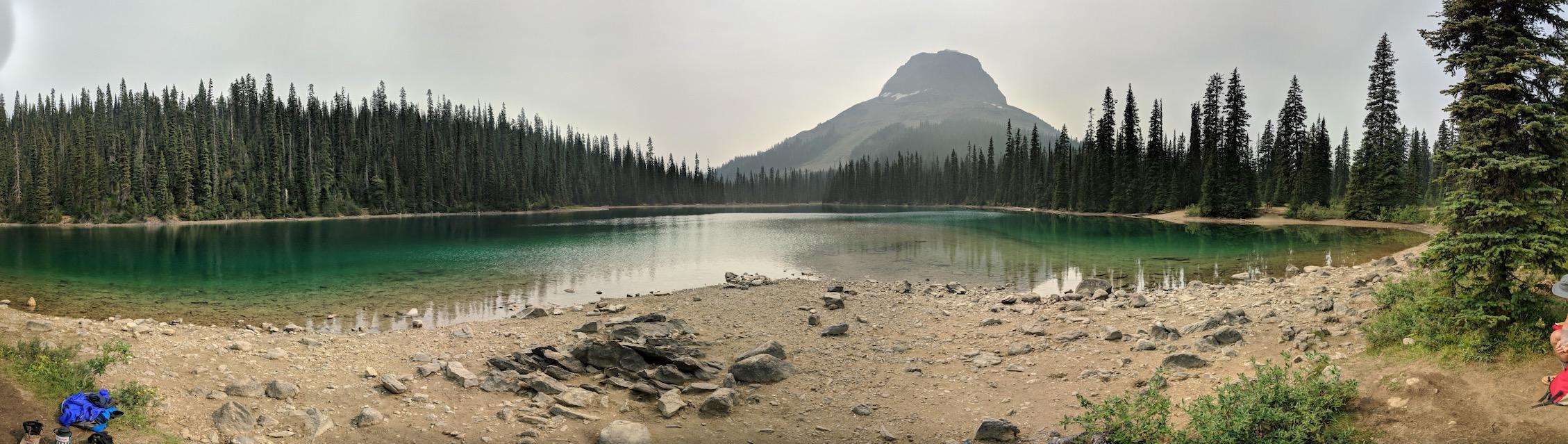 Yoho Lake - Emerald Lake Triangle