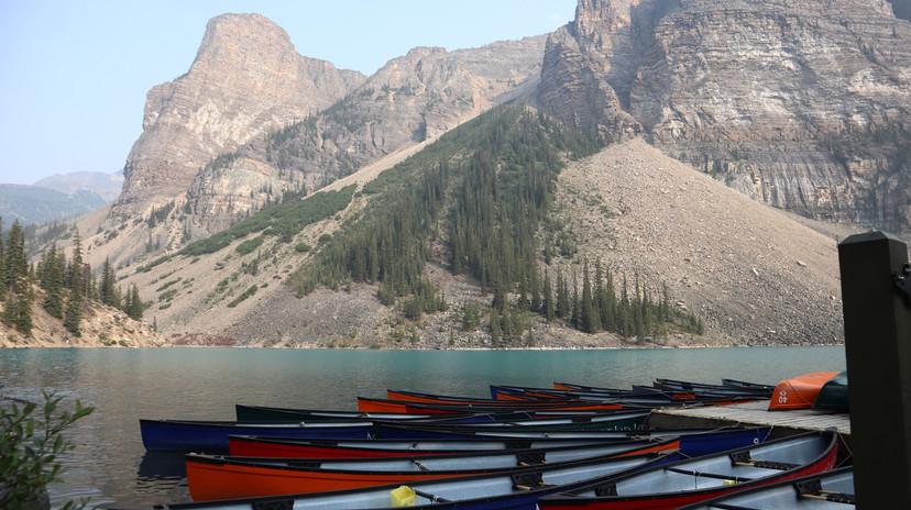 Moraine Lake - Sentinel Pass