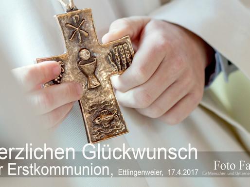 Erstkommunion - Herzlichen Glückwunsch