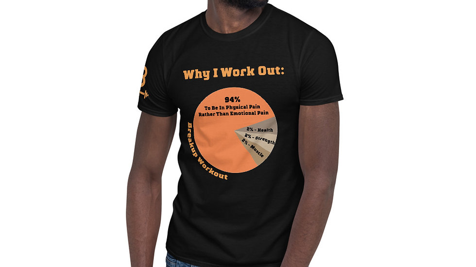 Why I Work Out T-Shirt, Men's