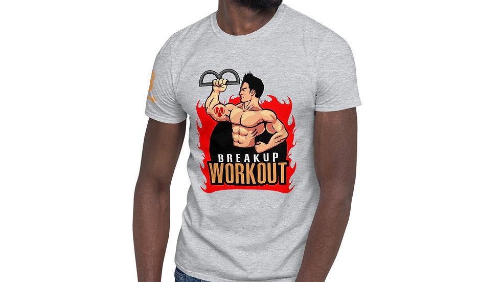 Breakup Workout T-Shirt, Men's - Sports Gray