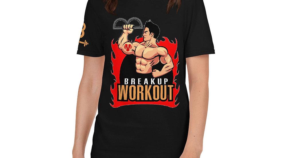 Breakup Workout T-Shirt, Women's - Midnight Black