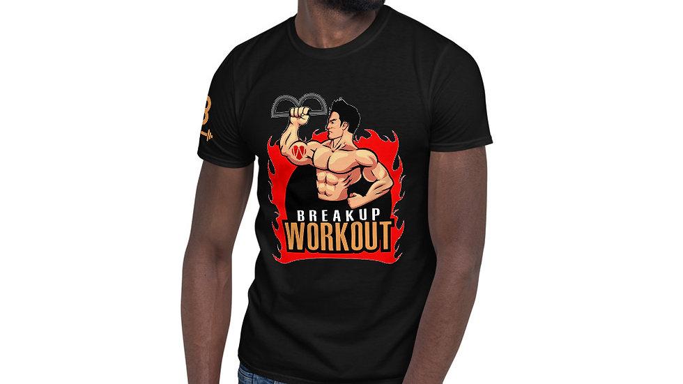 Breakup Workout T-Shirt, Men's - Midnight Black
