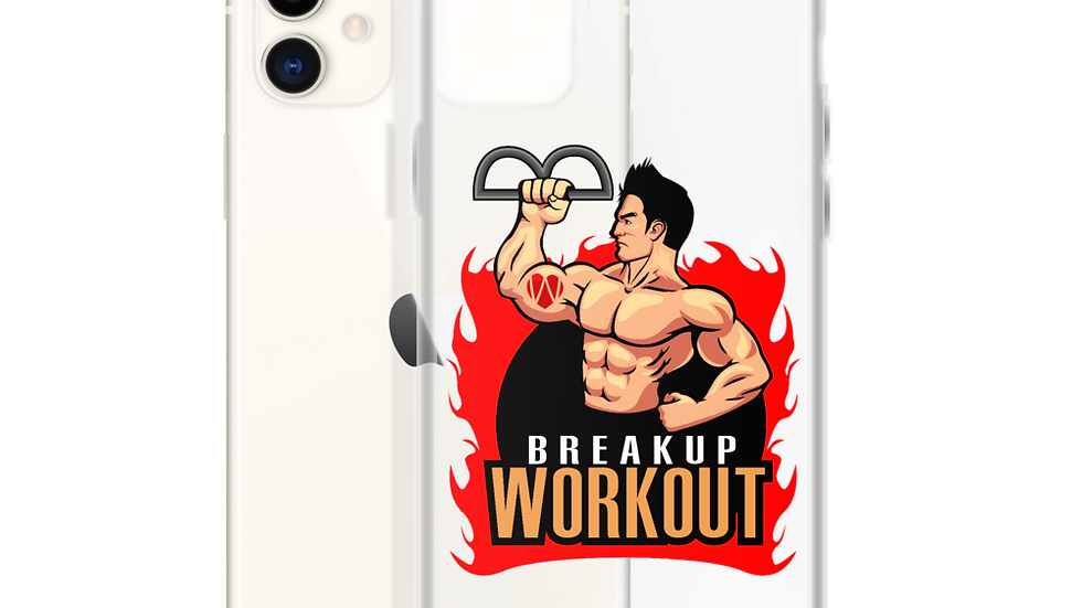 Breakup Workout iPhone Case