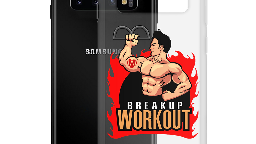 Breakup Workout Samsung Galaxy Case