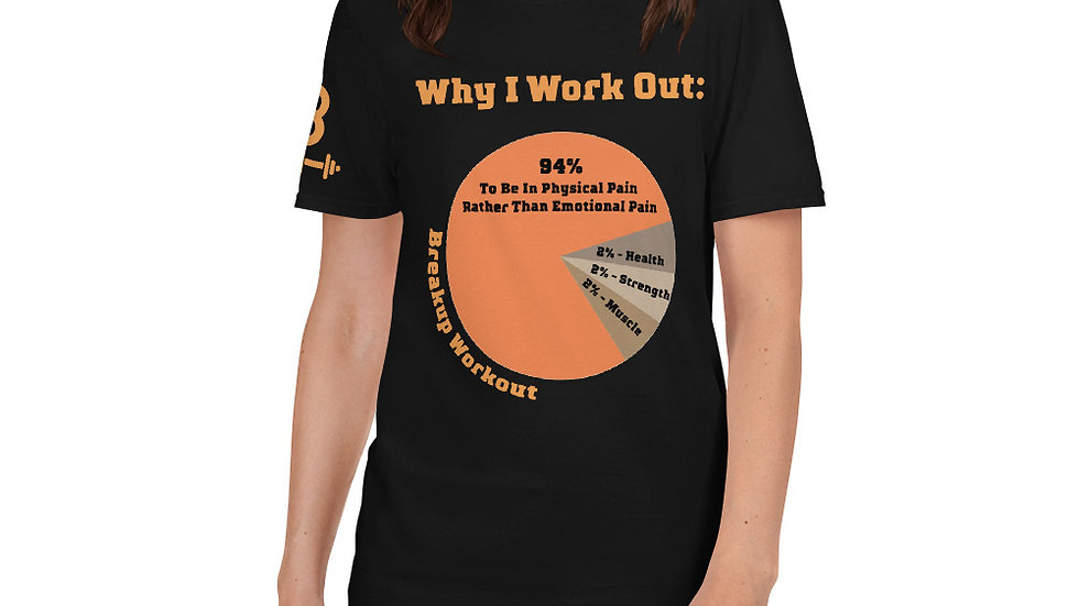 Why I Work Out T-Shirt, Women's