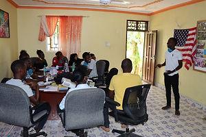 Photo of YAAR Kenya Youth Working Group communication skills training