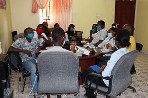 Photo of YAAR Kenya Youth Working Group meeting