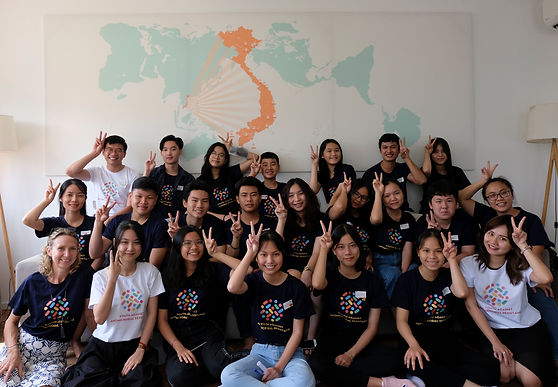 YAAR! Vietnam project team with Ho Chi Minh City YAAR Youth Working Group