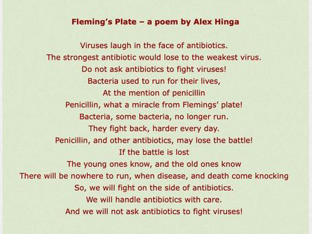 Fleming's Plate: a poem by Alex Hinga