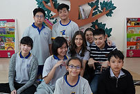 Photograph of young people in Thailands's Youth Against Antimicrobial Resistance team