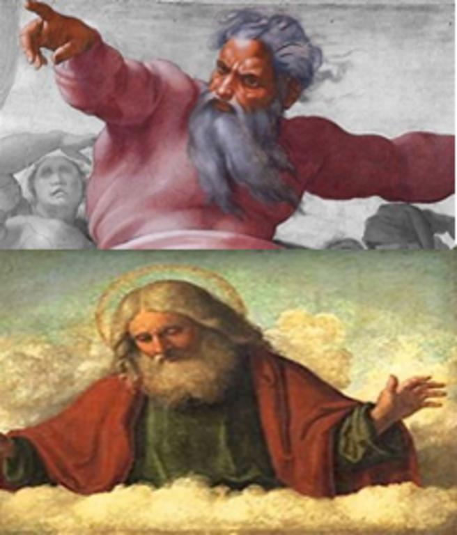 El obispo Marcion de Sinope, un filósofo del siglo II, y teólogo, nacido en Sinope, al norte de Asia Menor (actual Turquía) (45 D.C. – 160 D.C.), creía que había dos dioses: uno cruel y vengativo y el otro bueno y compasivo.