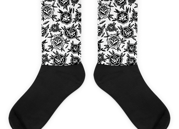 Traditional Rose Socks