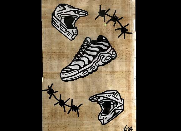 A4 Hand drawn flash - TN