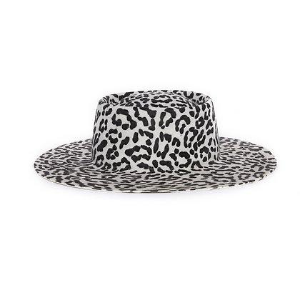 Hat Affair Leopard - Black & White SS21