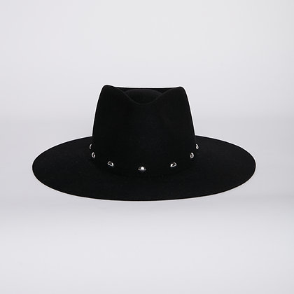 Timeless Hat Black - Round