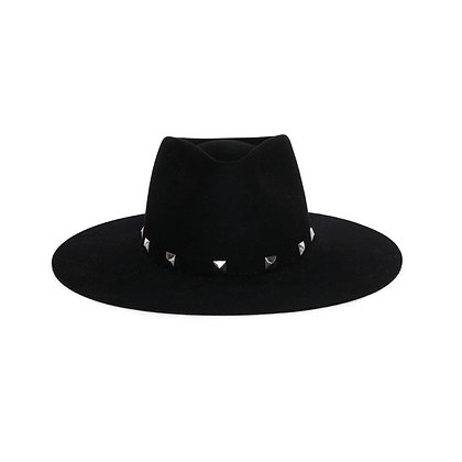 Timeless Hat Black - Square SS21