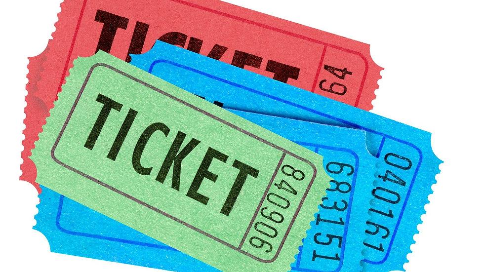 paquete de 6 tickets