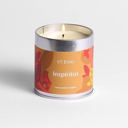 St Eval Inspiritus Tin Candle