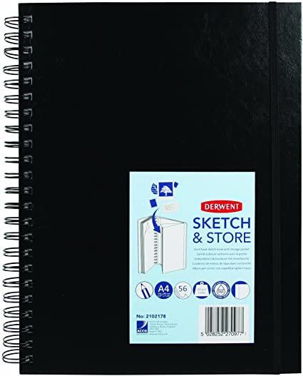 Derwent Academy Sketch And Store A4 Book