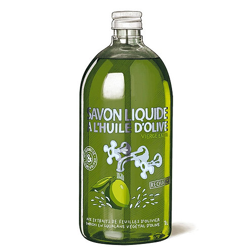 Liquid Soap Refill with Olive Oil 1L
