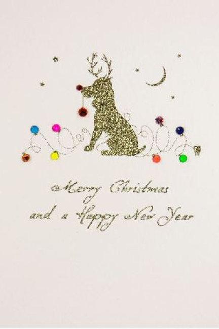 Christmas Dog Christmas Card