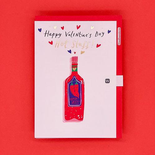 Hot Stuff Valentines Card