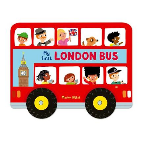 My First London Bus Whizzie Wheels Book