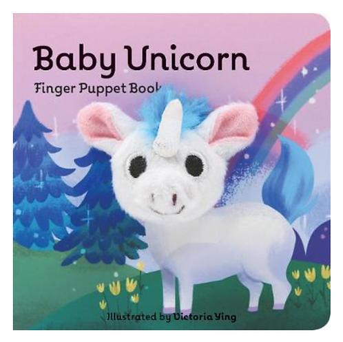Baby Unicorn Finger Puppet Book