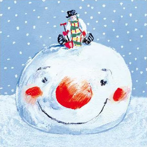 Snowman Christmas Card Pack of 5