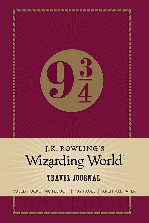 JK Rowlings Wizarding WorldTravel Journal Notebook