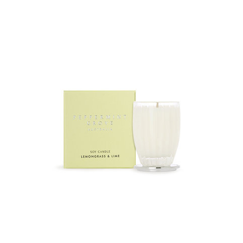 Peppermint Grove Leomongrass And Lime Candle