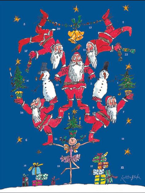 Balancing Santa's Advent Calendar