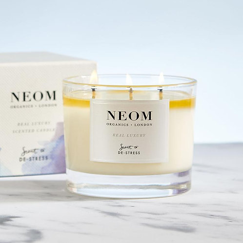 NEOM Three Wick Candle Real Luxury