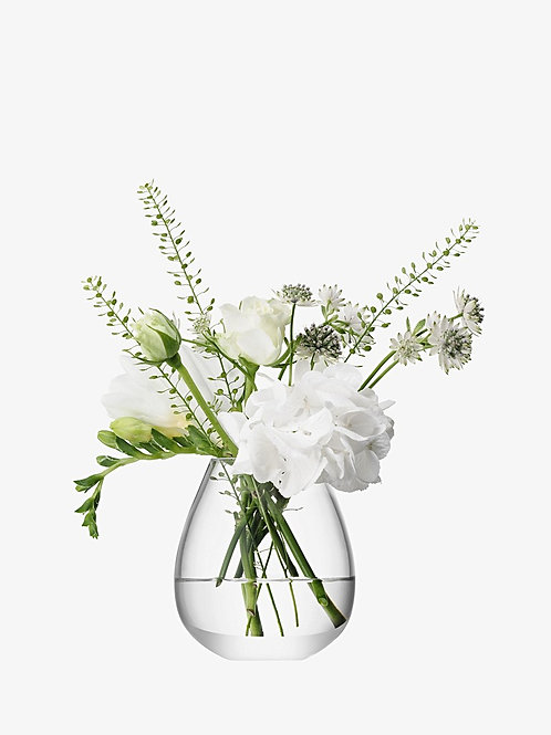 LSA Mini Clear Table Vase 9.5cm