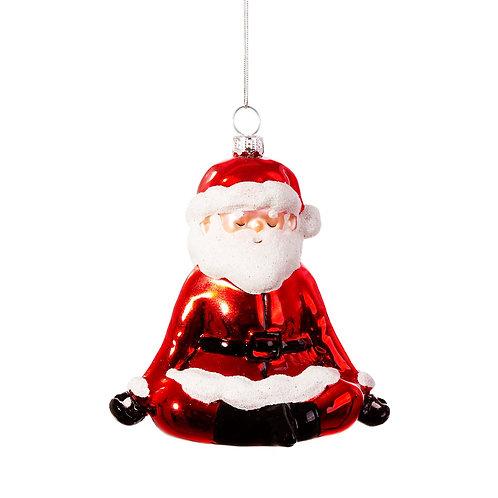 Hanging Santa Yoga Decoration