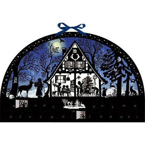 Moonlight Silhouette Advent Calendar