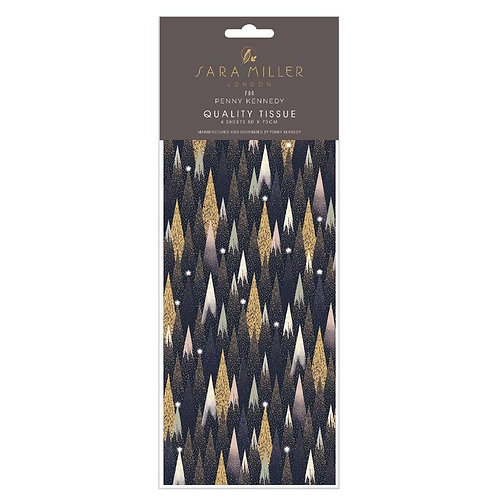 Sara Miller Frosted Pines Christmas Tissue Paper