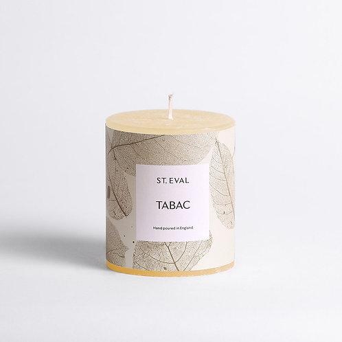 St Eval Garden Of Eden Tabac Pillar Candle