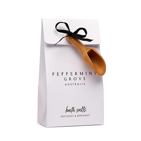Peppermint Grove Patchouli And Bergamot Bath Salts