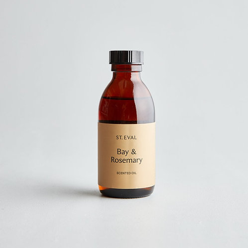 St Eval Bay And Rosemary Diffuser Refill