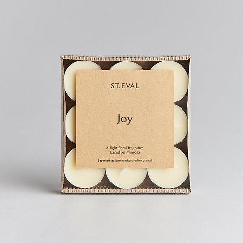 St Eval Joy Scented Tealights Set Of 9