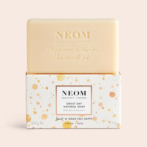NEOM Great Day Natural Soap