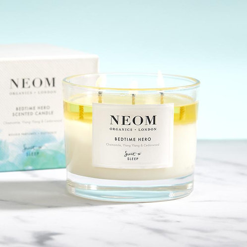 NEOM Candle Bedtime Hero (3 Wick) 420g