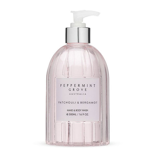 Peppermint Grove Patchouli And Bergamot Hand And Body Wash