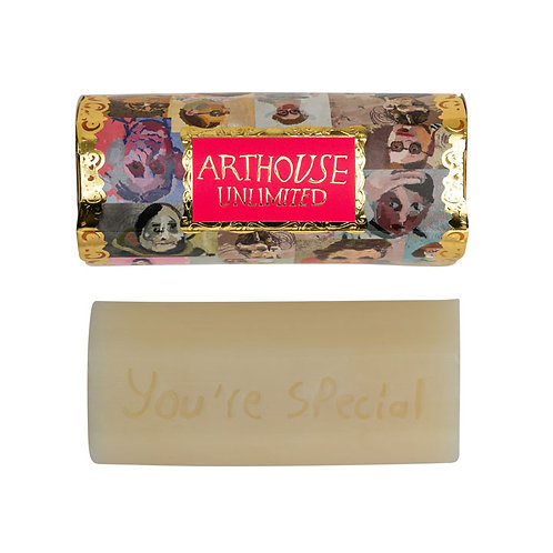 Organic Tubular Soap Portraits 150g