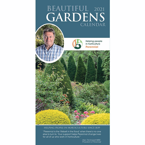 2021 Beautiful Gardens Slim Diary